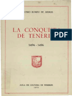 La Conquista de Tenerife 14941496