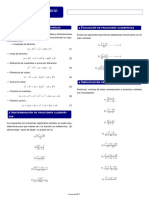 Guía Matemáticas Fracciones Algebráicas