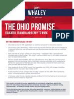 Nan Whaley's Ohio Promise