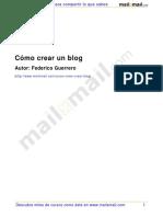 Como Crear Blog 26118