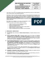 SSYMA-M01.01 Manual del Sistema Integrado de Gesti+â-¦n SSYMA
