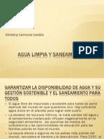 Diapositivas de DSH Agua Limpias y Saneamiento