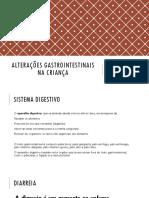 UFCD 3257 Alteracoes Gastrointestinais