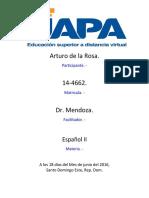 Actividad 3 Español 2