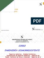 C10a.- Espectros Inelasticos y Diseño