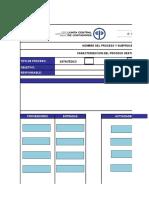 Formato Caracterizacion de Procesos