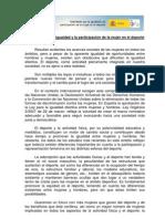 Manifiesto Mujer y Deporte Def