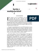 La Jornada_ Revolución y Multipolaridad_ 1