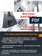 Mini Cuso AutoCAD Facema