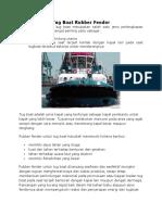 Tug Boat Rubber Fender