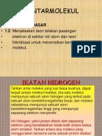f 121 Gayaantarmolekul