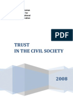 Trust in the civil society