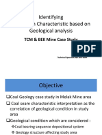 Geology of Coal Melak