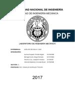 Informe de Análisis de Agua y Gas.
