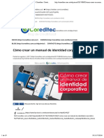 Cómo crear un manual de identidad corporativa | Coreditec