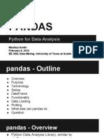 Research Paper Presentation Pandas Moshiul Arefin