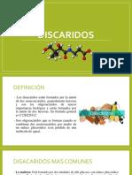 DISACARIDOS - DIAPOSITIVAS