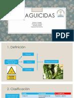Plaguicidas - toxicologia