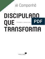 Livro  Discipulado Que Transforma -Josué Campanhã