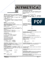 Aritmetica Algebra