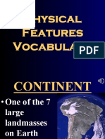 map skills - physical feature terms- weebly