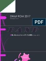 Diklat ROM 2017