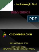 Oseointegracion Historia .Implantologia 2