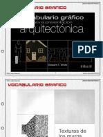 VOCABULARIO GRAFICO ARQUITECTONICO