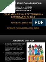 OTRAS VARIABLES QUE DETERMINAN LA DIVERSIDAD EN EL AULA.pptx