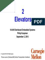 02_elevators Good Presentation