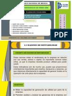 UNIDAD 3  planecion financiera. 3.2 RAZONES DE RENTABILIDAD