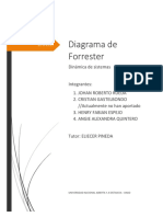 UNAD - Dinámica de sistemas - Diagrama Forrester