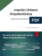 Programacion Urbano Arquitectonica