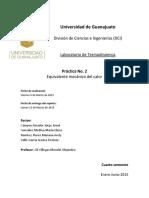 Práctica 2 Equivalente Mecánico Del Calor 1 (1)