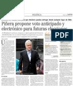 Piñera Voto Electrónico