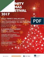 flyer - community christmas tree 2017