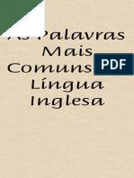 As Palavras Mais Comuns da Lingua Inglesa(celular).pdf