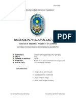 Informe de Glucolisis Uu12