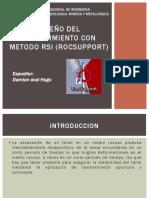 Diseño Del Sostenimiento Con Metodo Rsi (Rocsupport