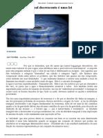 Mises Brasil - A Utilidade Marginal Decrescente é Uma Lei