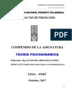 Compendio Teoria Psicodinamica - 2017-2 (2do Modulo)