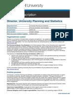 Mar PD - Director, University Planning and Statistics #556624