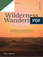 SAMPLE - Wilderness Wanderings.Stacy Reaoch.Cruciform Press
