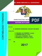 I-1. Sistema de Planificacion