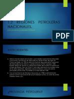 1.2 Regiones Petroleras en Mexico