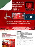 Seguridad Industrial UNI -  NFPA 25