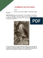 Dinámica Elemental de Los Fluidos Ecuacion de Bernoulli (1)