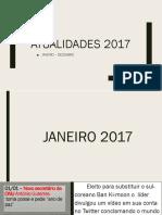 Atualidades 2017 - Ponto a Ponto