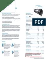 1. Datasheet - Product Insert 6inch 750psi 300ansi