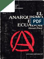 El Anarquismo en el Ecuador - Alexei Páez